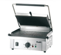 commercial electric contact grill PANINI Dualit