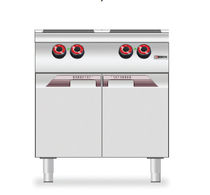 commercial electric range cooker 9CE4P desco