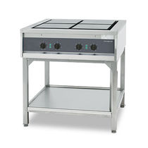 commercial electric range cooker FUTURA RP 4 Hackman