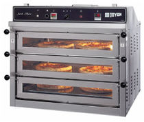 commercial gas 3 chamber pizza oven PIZ6 Doyon