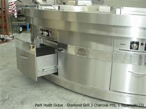 commercial gas grill DIAMOND CHAR Beech Ovens