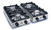 commercial gas range cooker BIG 700 2F CF PARKER