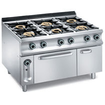 commercial gas range cooker G6SFA9 mbm