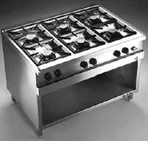commercial gas range cooker OPTIMA 700 MAGNUM MKN