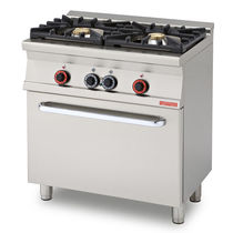 commercial gas range cooker CF2-58G  lotus