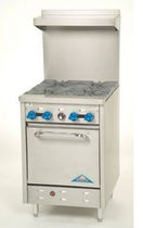 commercial gas range cooker 24&quot; Castle