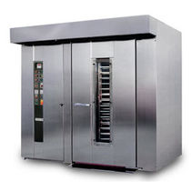 commercial gas rotating rack oven ESMKR  Tugkan bakery equipment ltd