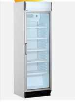 commercial glass door refrigerator KBC 375 CHL KLEO Refrigeration