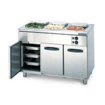commercial heated holding cabinet with bain-marie PROFF : BM-1200 Hackman