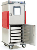 commercial heated holding cabinet with casters METRO® C5� T-SERIES METRO SHELVING TRUE