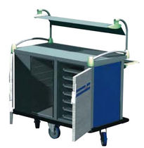 commercial heated utility trolley RESTISELF JUNIOR ELECTRO CALORIQUE