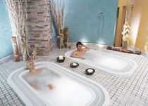 commercial hydromassage bath-tub  MONOPOSTO HAPPY SAUNA - wellness today