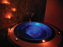 commercial hydromassage bath-tub   SANYA