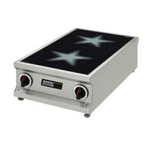 commercial induction range cooker 120821 MENU SYSTEM AG