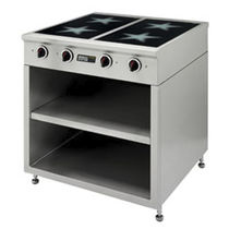 commercial induction range cooker 120826 MENU SYSTEM AG