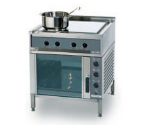 commercial induction range cooker ARDOX I4 Hackman