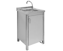 commercial kitchen sink WASHBASIN WITH DOOR  MAFIROL