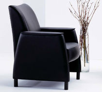 commercial leather armchair AYNSLEY by David Dahl  Arcadia Contract