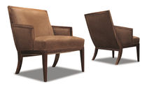 commercial leather armchair BELGRANO Costantini Design