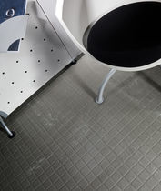 commercial non-slip rubber tile (FloorScore® certified, low VOC emissions) RAISED DESIGN Roppe Corporation