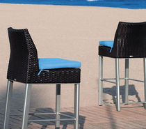 commercial outdoor bar chair BIARRITZ TRICONFORT