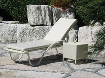 commercial outdoor garden sun lounger  SANYA
