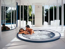 commercial overflow built-in hot-tub  SANYA