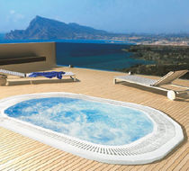 commercial overflow built-in hot-tub  PROCOPI