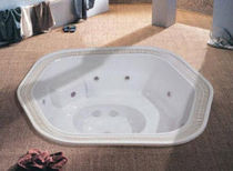 commercial overflow built-in hot-tub  BLUE LAGOON SPAS