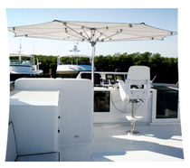commercial patio umbrella  MARINE T-TOP CUSTOM LUXURY YACHT TUUCI