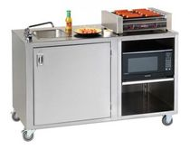 commercial portable kitchen sink CV-PHS-5 Crown Verity