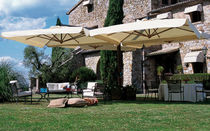 commercial quadruple patio umbrella  QUADRO EMU