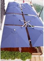 commercial quadruple patio umbrella  P6 Beaufurn (BFP)