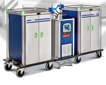 commercial refrigerated utility trolley SIDE CONNECTION ELECTRO CALORIQUE