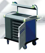 commercial refrigerated utility trolley RESTAUSET ELECTRO CALORIQUE