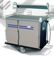 commercial refrigerated utility trolley RESTISELF JUNIOR ELECTRO CALORIQUE