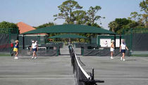 commercial shade cover TENNIS AND SHUFFLEBOARD Shade Systems