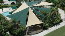 commercial shade sail  Shade Systems