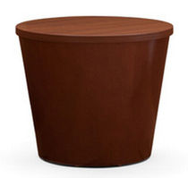 commercial side table MITRA DRUM Nurture by Steelcase