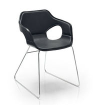 commercial sled base chair LOOP uno design