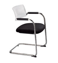 commercial sled base chair TEO by Hagge/Puchta DAUPHIN