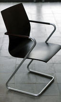 commercial sled base chair CAF by Joan Forgas Alis