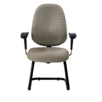 commercial sled base chair AGENT 9 to 5 seating