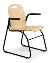 commercial stacking armchair MINIPLY A.D.I. Art Design International