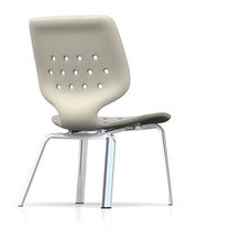 commercial stacking chair SILIFORM AL Sittris