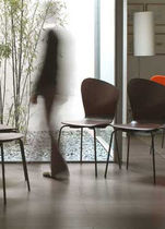 commercial stacking chair  ASIMÉTRICA by Carlos Ferrater Alis