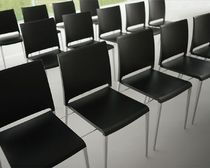 commercial stacking chair  MYA 700 by C.Dondoli & M.Pocci PEDRALI