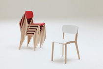 commercial stacking chair  JONTY by Simon Pengelly Chorus Furniture