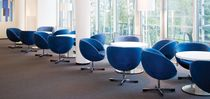 commercial swivel armchair PLANET by Sven Ivar Dysthe FORAFORM AS