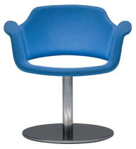 commercial swivel armchair PAZ by Tod Babick Stylex